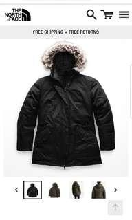 Northface Jacket Parka Small