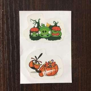 Angry Birds 哈囉喂貼紙