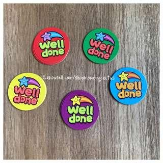 (Sold) Well done Student Reward Card for Teachers