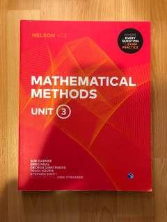 UNIT 3 METHODS PRACTICE EXAM BOOK