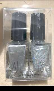 Brand New Auth H&M Set of Two Holiday Nail Polish