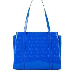 Herrods Knightsbridge (Royal Blue) handbag