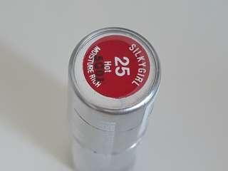Full size silkygirl moisture rich lipstick