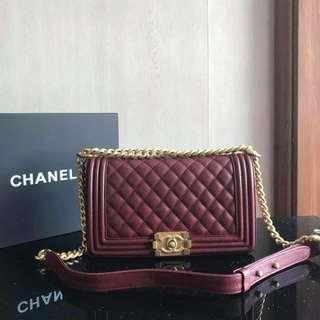 Chanel Medium Quilted Le Boy