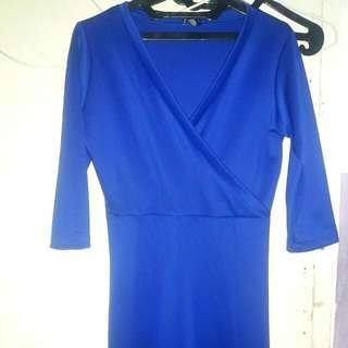 Long Dress Scuba