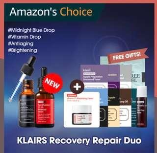 [Bundle Deal] - Wishtrend / Klairs Recovery Duo Pair