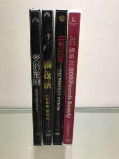 Lot of 4 DVD and VCD Movie
