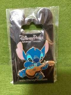 結他史迪仔-Disney pin 迪士尼襟章
