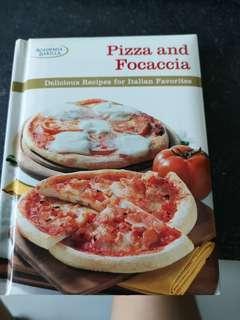 Pizza and focaccia recipes book
