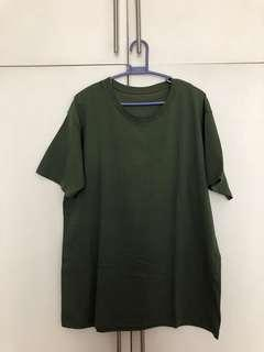Uniqlo Green Tshirt