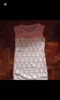 Blush Pink Bodycon Dress
