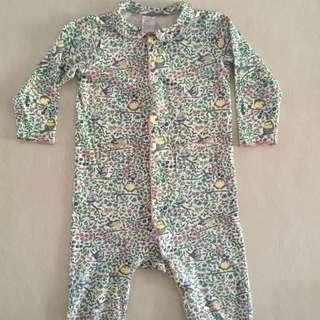 9-12m Like New H&M Footless Sleepsuits