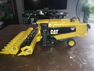 RARE 1999 1/64 Norscott Cat Lexion 485 with corn and grain header