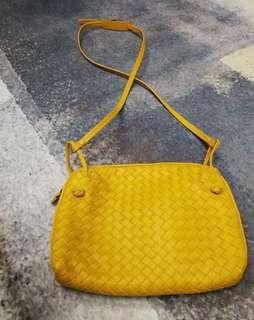 Bottega Veneta Yellow Sling Bag