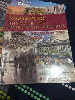 Geography and History Sec 2 Textbook