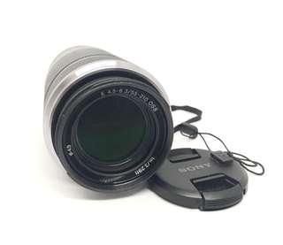preloved Sony E 55-210mm F/4.5-6.3 OSS E-Mount Silver