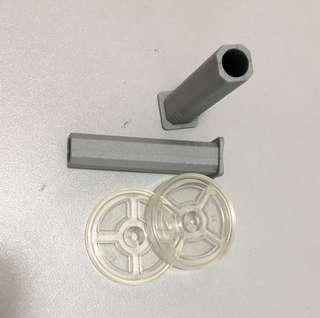 Parts for safety gate