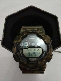 GSHOCK GD-120cm-5D Army (Baca Condition)