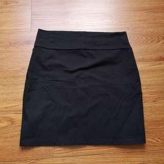Cotton On Black Tight Skirt