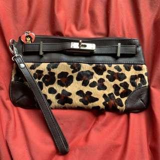 [清屋割愛]豹紋clutch
