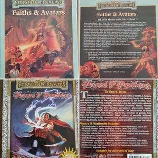 AD&D, Faiths & Avatars + Powers of Pantheons