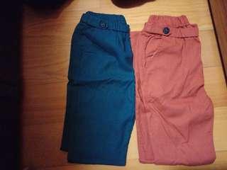 🚚 2件100,長褲 女裝 顯瘦褲