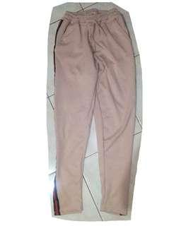 Pink Gucci-inspired Track Pants