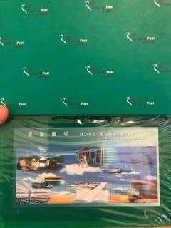 香港啟德機場關閉紀念郵票紙鎮