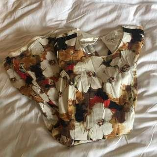 Authentic Forever 21 Floral Dress