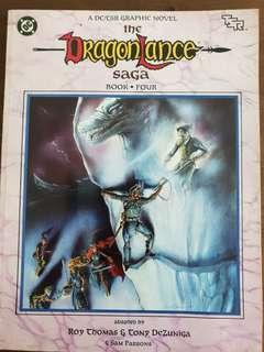 The Dragonlance Saga book 4 Graphic novel AD&D, TSR