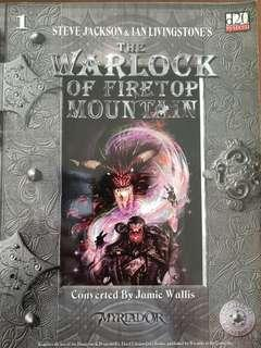 Fighting Fantasy d20 Myriador, Warlock of Firetop Mountain