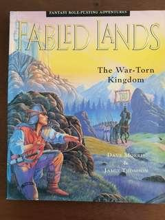 Fabled Lands book 1, The War-torn kingdom Gamebook