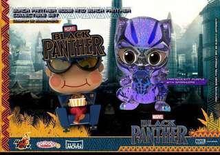 全新 圓貼未開 Hottoys Cosbaby Marvel Black Panther