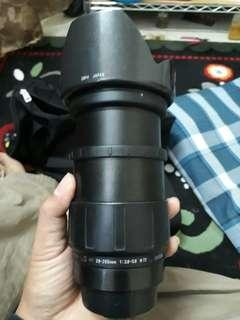 tamron 28~200mm 1:3.8~5.6 good condition and normal function. for canon