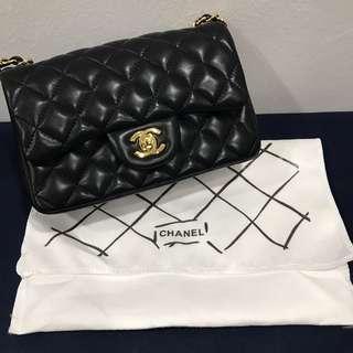 Chanel Lambskin Flap (20cm)