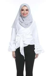 Lenora Top by Arco White Color
