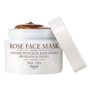 🚚 Fresh Rose Face Mask Mini 30g