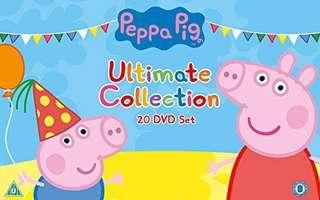 Peppa Pig Ultimate 20 DVD Collection boxset