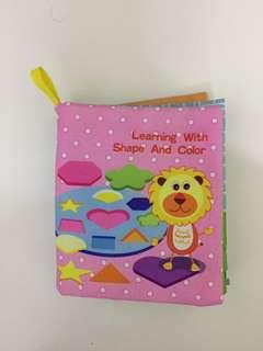 Soft cloth book