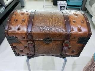 Vintage Treasure Chest (Leather)
