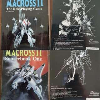 Macross/Robotech RPG book and Sourcebook by Palladium