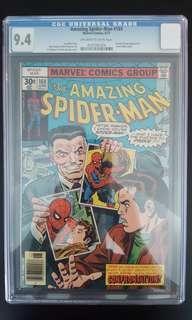 Amazing Spider-man #169 CGC 9.4 (1977 1st Series) Bronze Age Collectible!