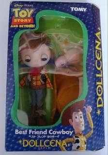 Toy Story Tomy Dollcena Disney Pixar Cowboy Woody 翠絲 巴斯光年