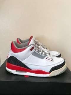 Jordan 3 Fire Reds