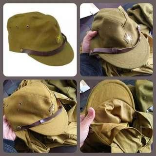 World War Two Imperial Japanese Army Soldier Officer Cap Uniform