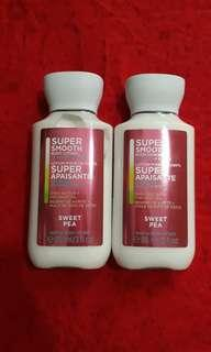 B&BW Sweet Pea Super Smooth Body Lotion