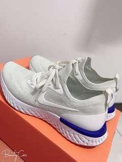 🚚 Nike React Flyknit 白藍 us7 24cm