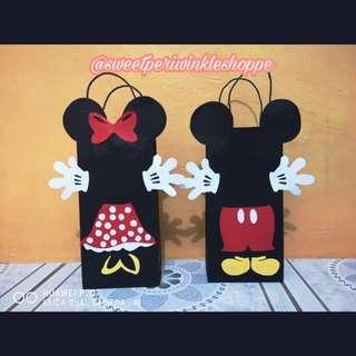 MTO: Minnie Mouse and Mickey Mouse Loot Bags