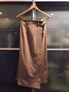 Tweeds Wrap Around Skirt