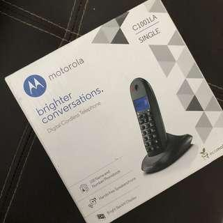 Motorola Cordless Phone C1001La